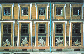 Sonnes Frise. Sydsiden - Copyright tilhører Thorvaldsens Museum