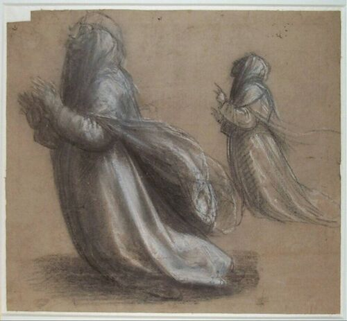 Fra Bartolommeo: Study for drapery