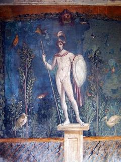 Mars i Case della Venus, Pompeji