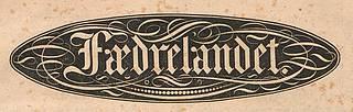Småtryk 1839, Fædrelandet 22.11.