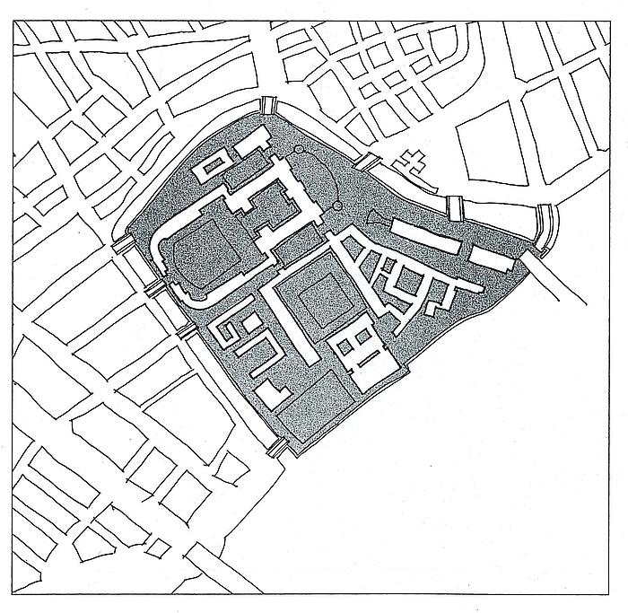 Plan over Slotsholmen