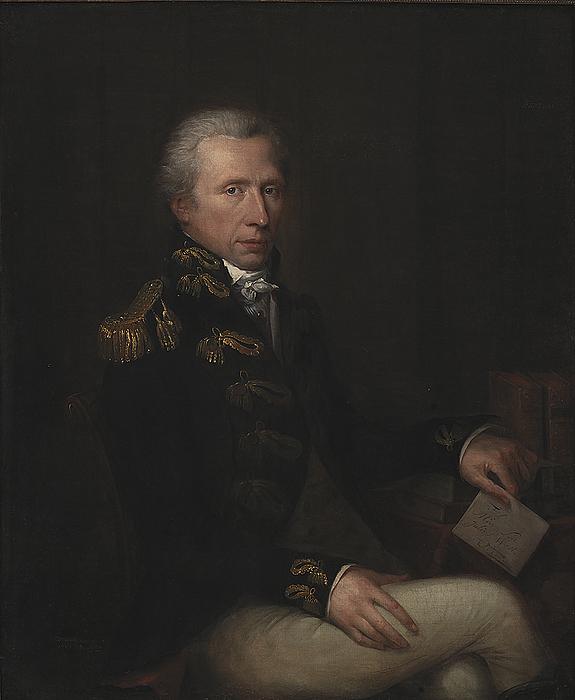 Charles Pièrre Verhulst: Portræt af Hans West