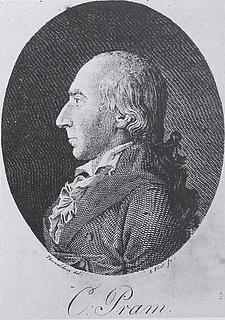 Andreas Flindt: Christen Pram, ca. 1794-95