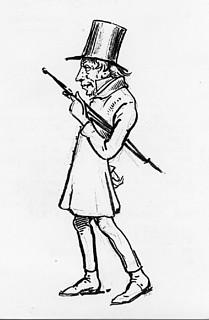 Wilhelm Marstrand. Karikatur af Søren Kierkegaard. Frederiksborgmuseet, Hillerød