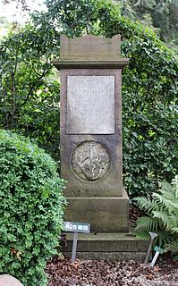 Giuseppe Siboni, gravsten, Assistens Kirkegård i København