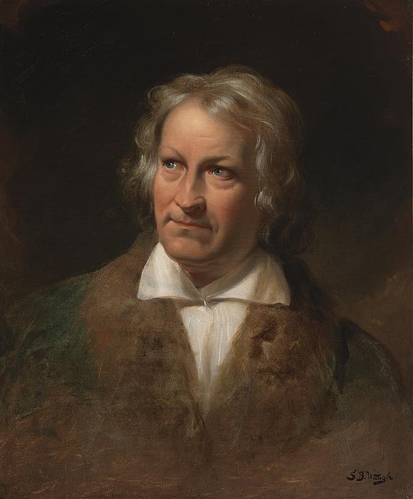 Samuel Bell Waugh, Portræt af Bertel Thorvaldsen