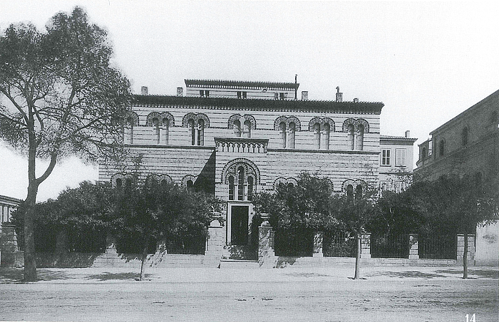 D. Rhomaïdes: Øjenklinikken i Universitetsgaden, ca. 1890