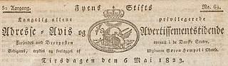 Småtryk, Fyens Stiftstidende, logo