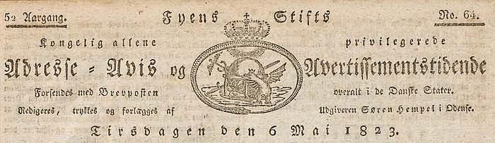 Småtryk, Fyns Stiftstidende, logo