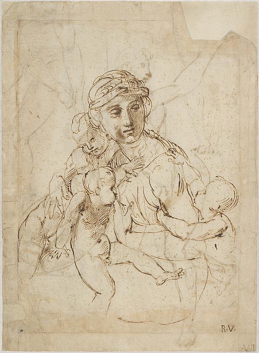 Raffaello Sanzio: Caritas, omkring 1507