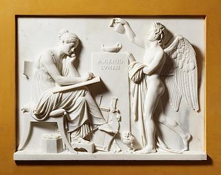 Bertel Thorvaldsen: A genio lumen. Kunsten og den lysbringende genius, 1808, Thorvaldsens Museum