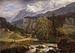 J. C. Dahl: Alpint Landskab fra Tyrol, 1821, Olie på lærred, 110 x 148 cm. Germanisches Nationalmuseum, Nürnberg. Gm1639. - Public domain