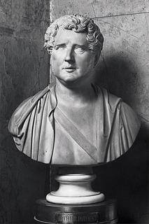 Thorvaldsen: Buste af grev Arthur Potočki. 1829. Marmor. (I Potočki'ernes gravkapel i katedralen på Wavel, Krakòw)