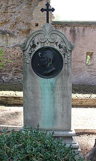 Gravmæle for W. Hopfgarten, Cimitero Acattolico
