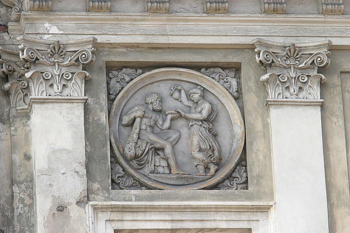 Ukendt studerende af Konstanty Hegel: Hercules og Hebe (efter Thorvaldsen)