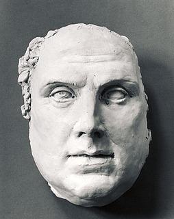 Hovedet af Martin Luther