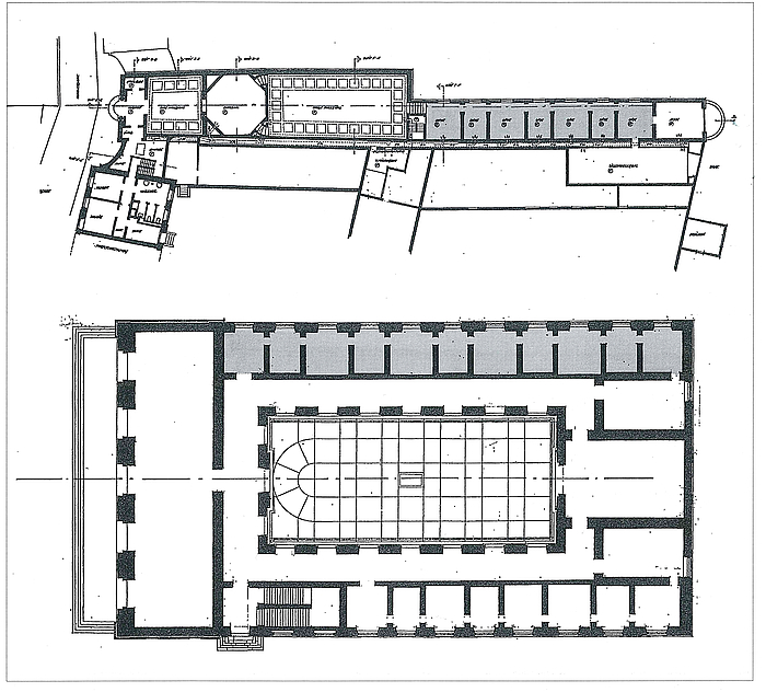Plan over Faaborg og Thorvaldsens Museum