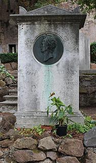 Gravmæle for H. Reinhold, Cimitero Acattolico