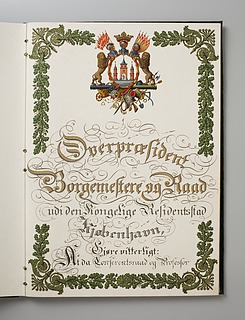 Æresborgerdiplom fra Staden København