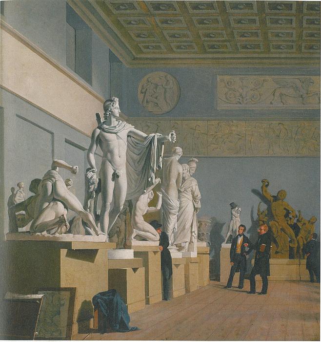 Peter Herman Rasmussen, Antiksalen på Charlottenborg, 1837