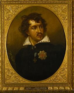 Karl Joseph Stieler(?): Porträt von König Ludwig I. von Bayern als Kronprinz, 1821-22 -  Copyright gehört Thorvaldsens Museum