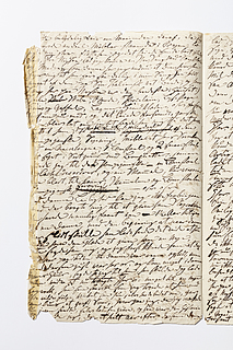 Christine Stampes manuskript om Thorvaldsen, side 314