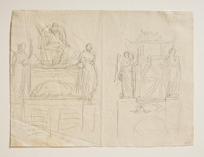 Monument over Pius 7.