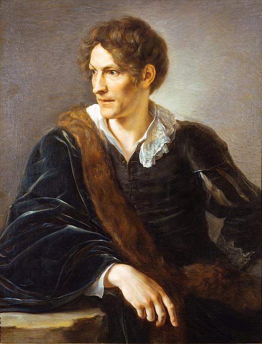 V. Camuccini: Portræt af Thorvaldsen
