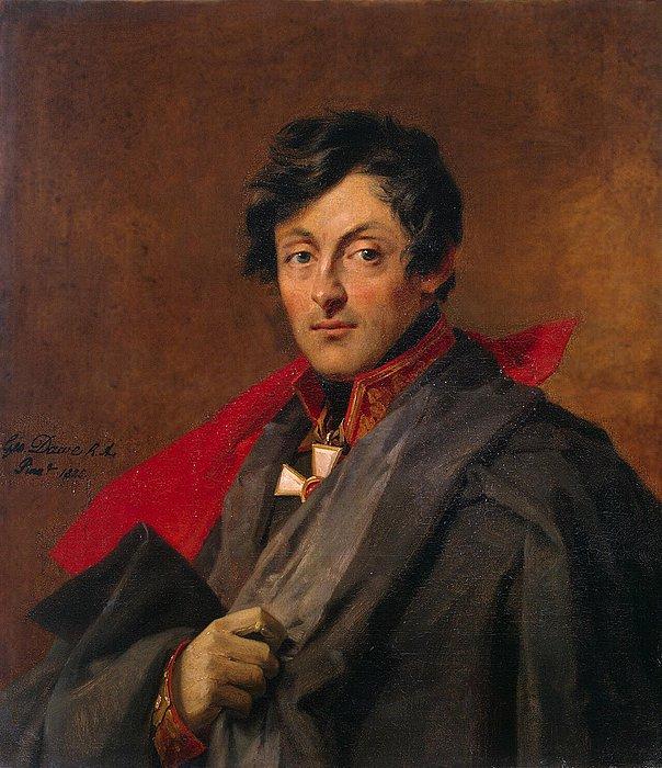George Dawe, Portræt af Alexander Ivanovich Ostermann-Tolstoy, 1825