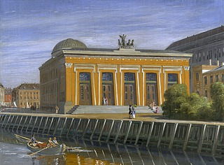 Thorvaldsens Museum set fra Nybrogade
