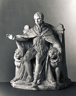 Frederik 6. Et første udkast til et monument i Kongens Have?