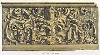 Venere tra fiori, efter Giovanni Pietro Campana: Antiche opere in plastica, Rom, 1842, planche XII - Copyright tilhører Danmarks Kunstbibliotek