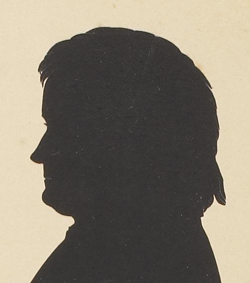 Silhouet af Thorvaldsen