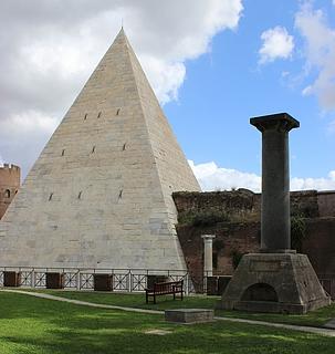 Rauch & Thorvaldsen: Gravmæle for Sydney Bowles, ved Cestius-pyramiden, Cimitero Acattolico