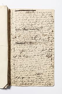Christine Stampes manuskript om Thorvaldsen, side 110
