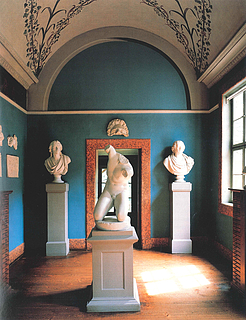 Busterummet. Goethes bolig på Fruenplan, Weimar