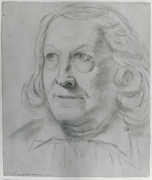 Christian Horneman: Portræt af Thorvaldsen, efter 1838
