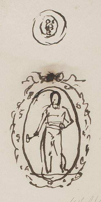 Signet med Thor-figur