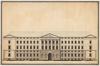 C.F. Hansen: Hovedfacaden, Christiansborg Slot