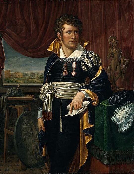 Jacob Munch: Thorvaldsen 1810-13