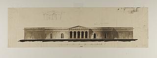 Badeanstalt, opstalt af facade