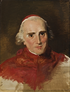 Portræt af kardinal Ercole Consalvi