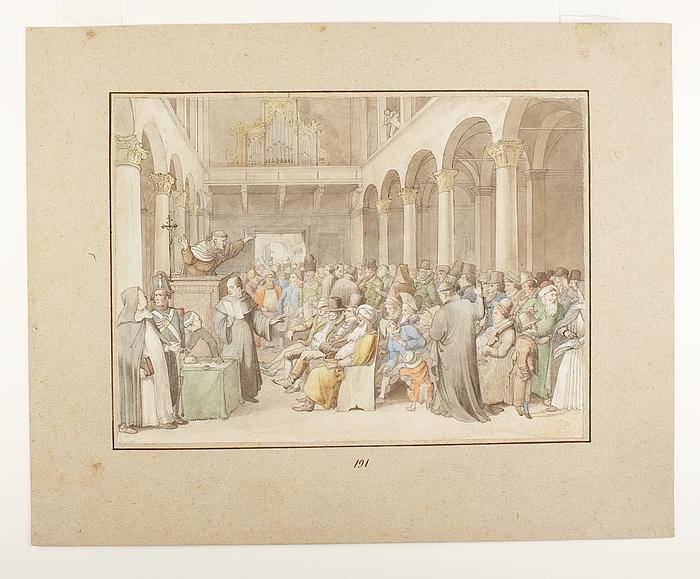 Jødernes omvendelse i Rom