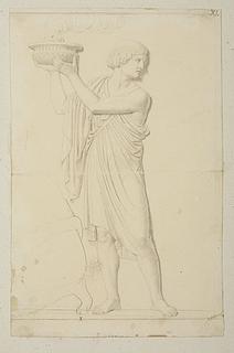 Figuren med Bagophanes' røgelsesskål