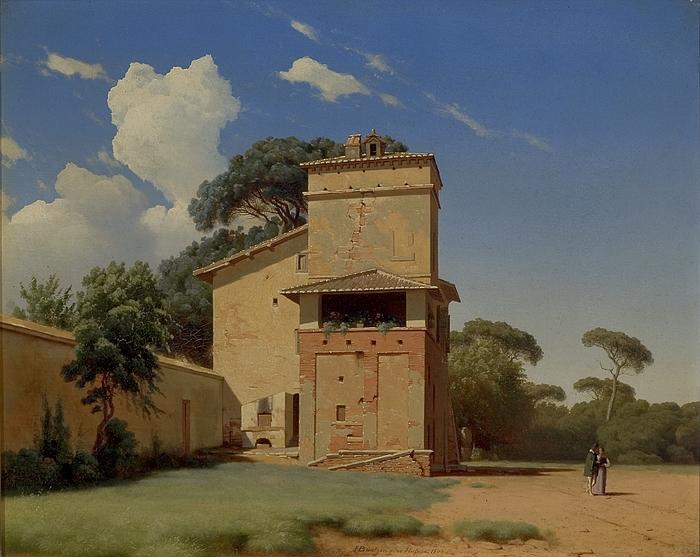 Casa del Portinaio i Villa Borgheses have