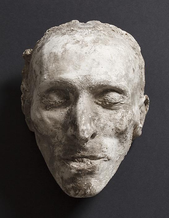 Georg Zoëga, dødsmaske