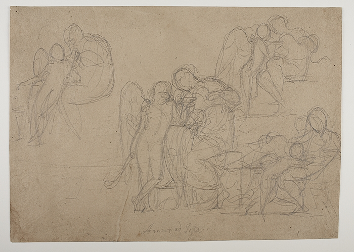 Amor og Hygieia. Amor hos Anakreon(?) Amor trøstes af Venus(?)