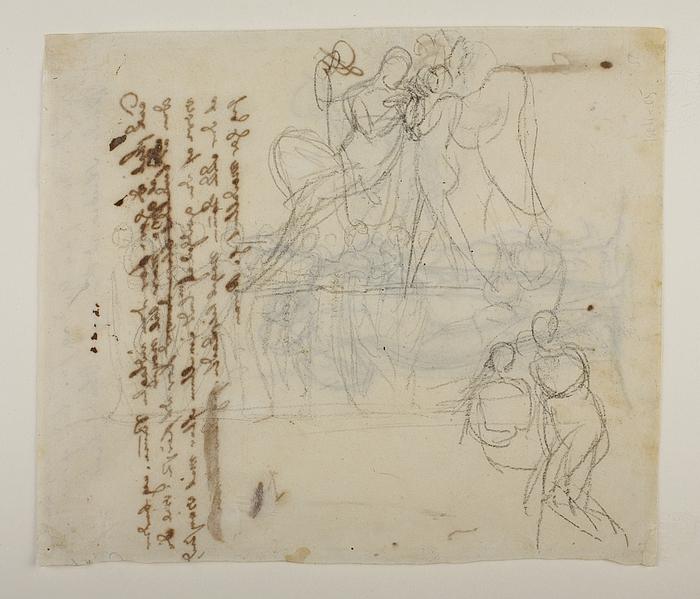 Bacchus og Amor. Musernes dans på Helikon