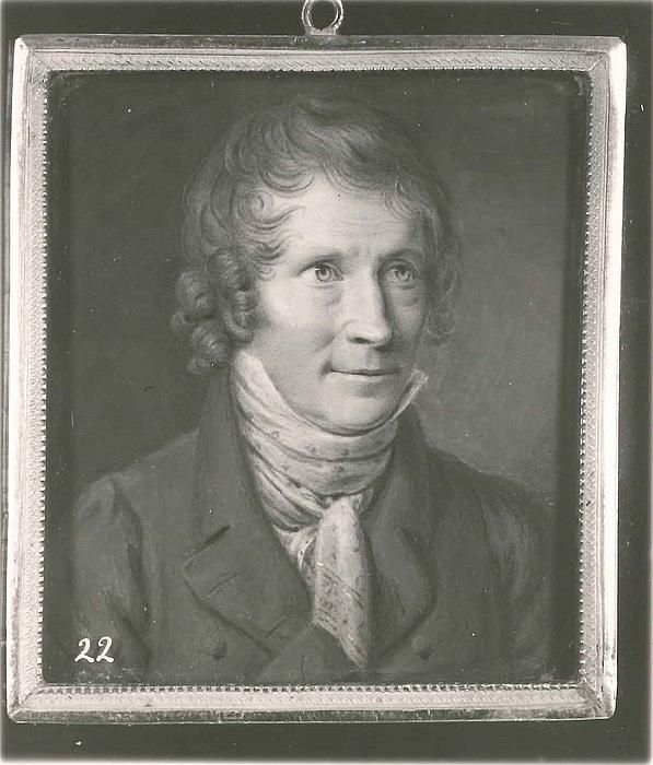 Christian Horneman: Portræt af Thorvaldsen, 1820
