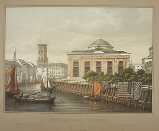 Thorvaldsens Museum set fra Stormbroen